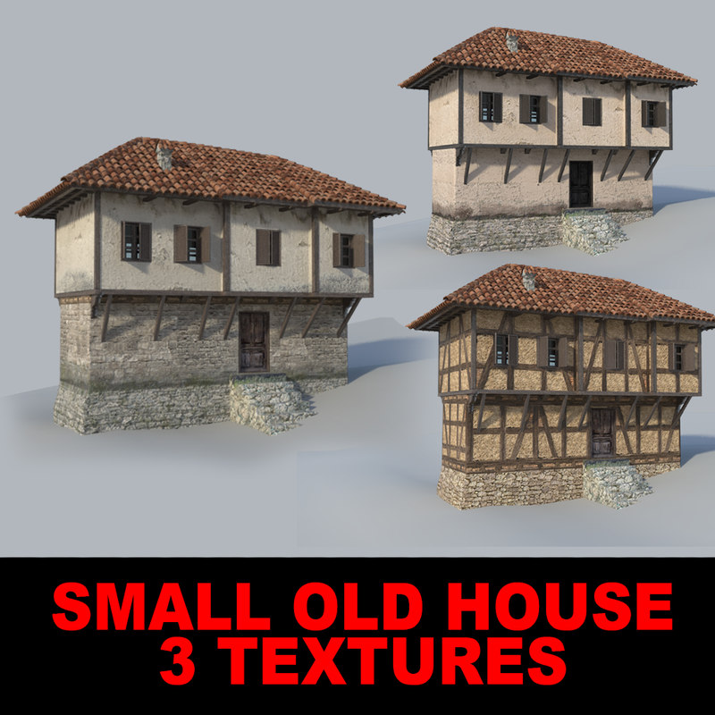 small house fbx