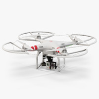 DJI Phantom 2 Quadcopter with Prop Guard and GoPro HERO3