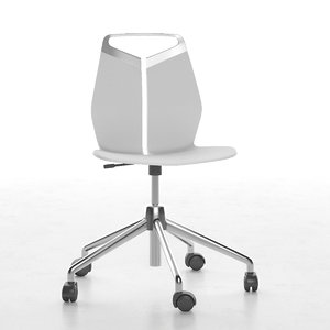 chair stool kid 3d 3ds