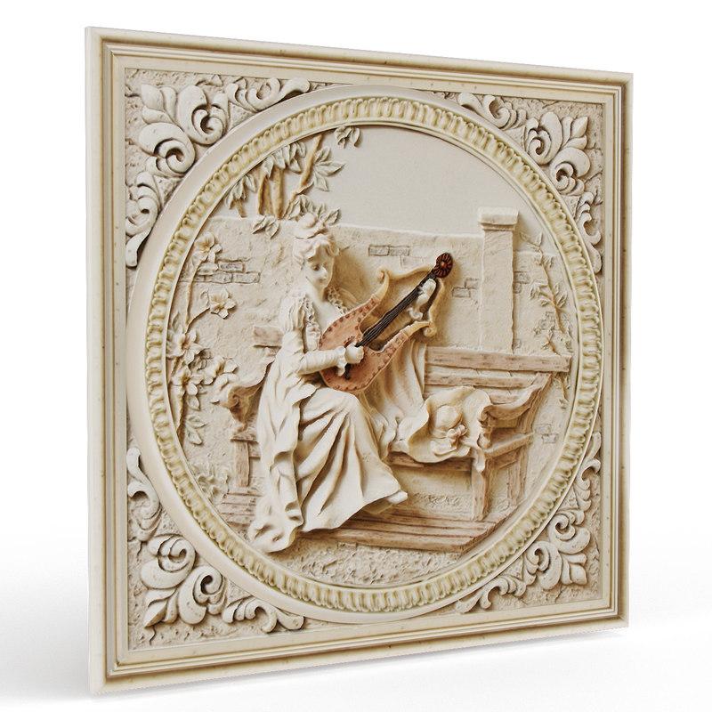 panno pampeia 3d model
