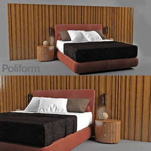 3ds max bed