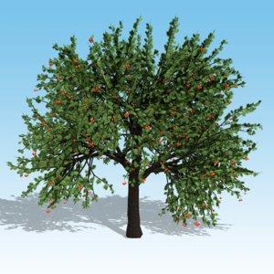 obj cherry tree