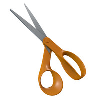 3d model scissors blades cutting