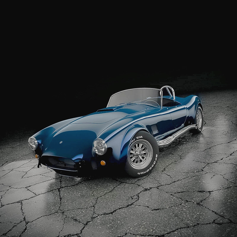 3ds shelby cobra 427
