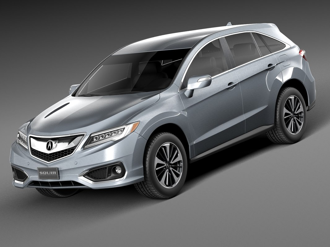 3d 2016 acura rdx. Black Bedroom Furniture Sets. Home Design Ideas