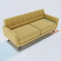 3d anson sofa model