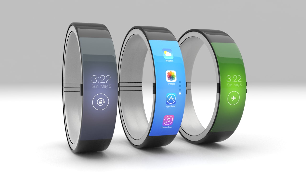 3d iwatch watch model
