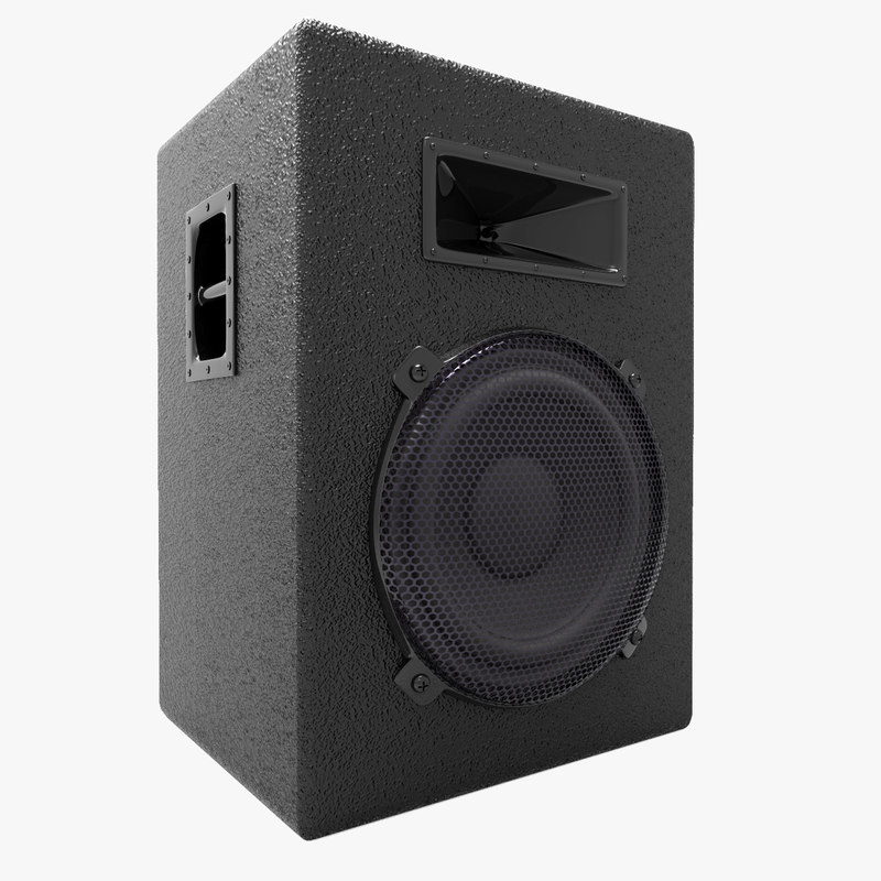 3d model speaker separated