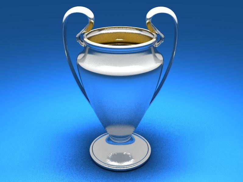 soccer trophy 3d max
