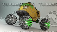 3ds max truck concept mo 2055