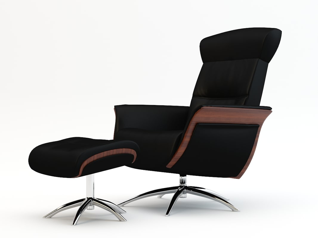 3d model chair armchair arm
