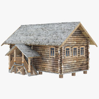 cottage russian 3d model