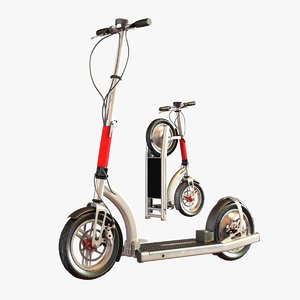 scooter electric 3ds