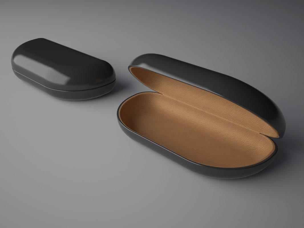 case sunglasses 3d model