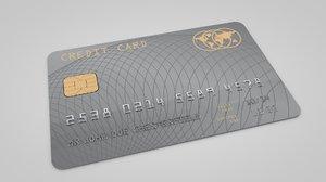 3d credit card