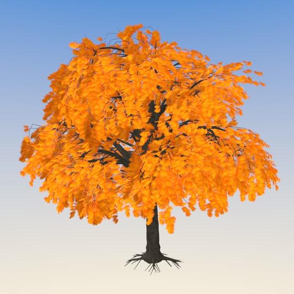 maple tree fbx