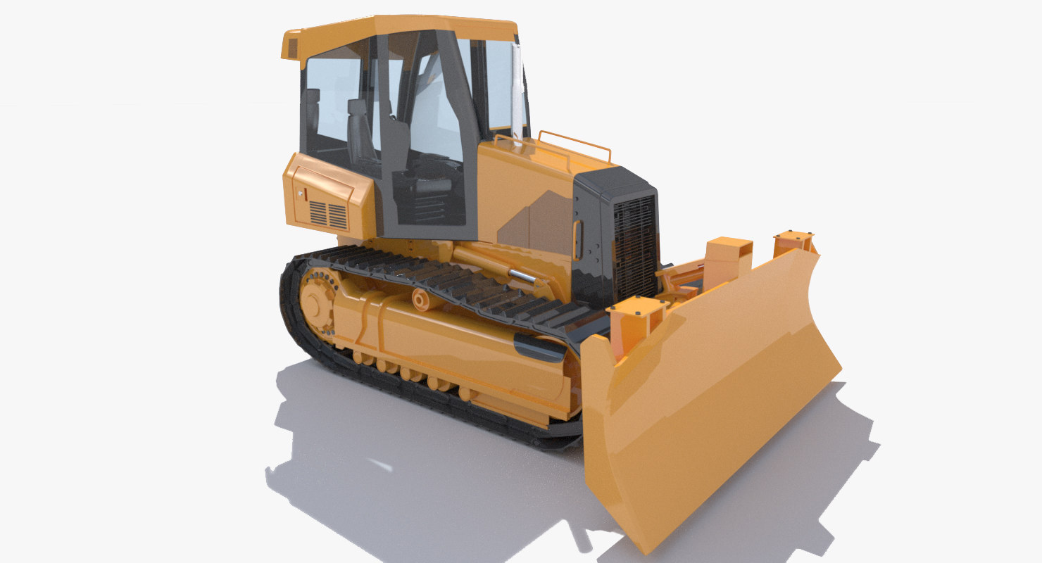 3d bulldozer industry