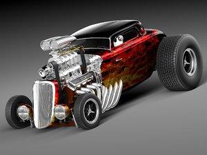 3d model 1933 33 rod