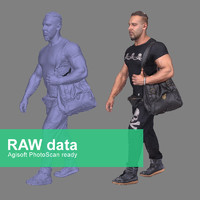 3d scan fullbody agisoft model