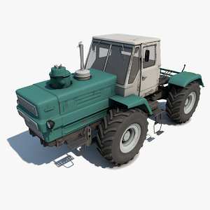 old tractor t-150 3ds