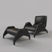 3ds armchair dc113