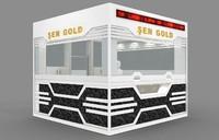 3d model gold silver