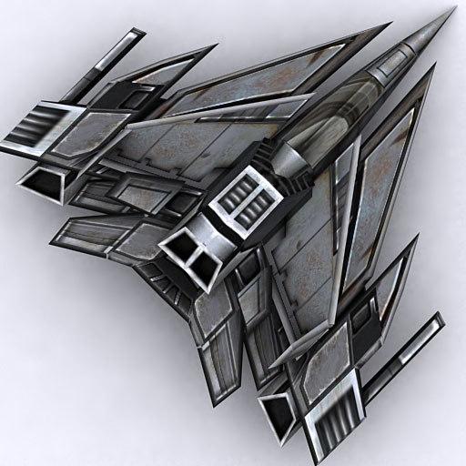 3d model sci-fi fighter