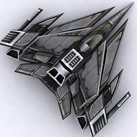 3DRT - Sci-Fi Fighter 4