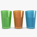 water glass 3D models