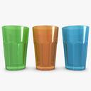 water glass 3D models