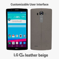 LG G4 Leather beige