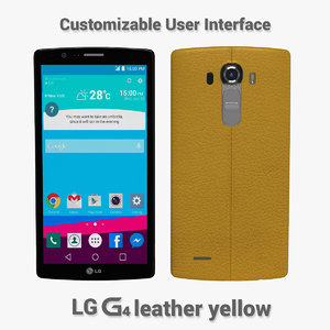 3ds max lg g4 leather