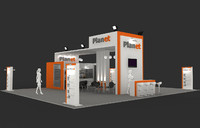 3d max fair stand exhibition