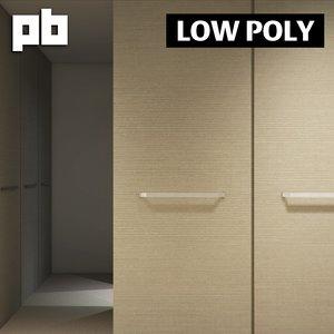 3d model closet bedroom pack 1