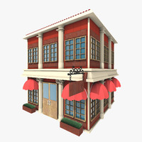 stylized building max