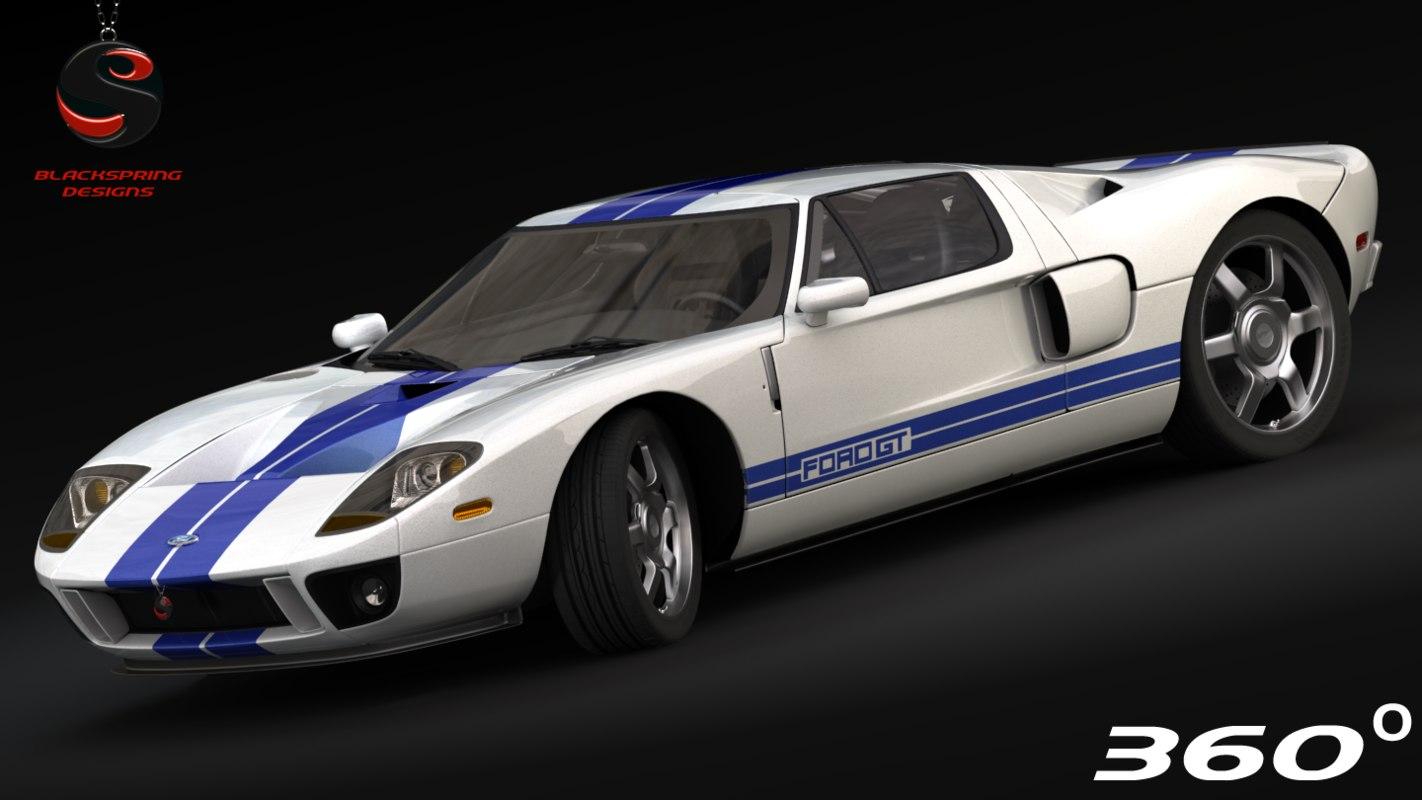 gt 2005 3d model