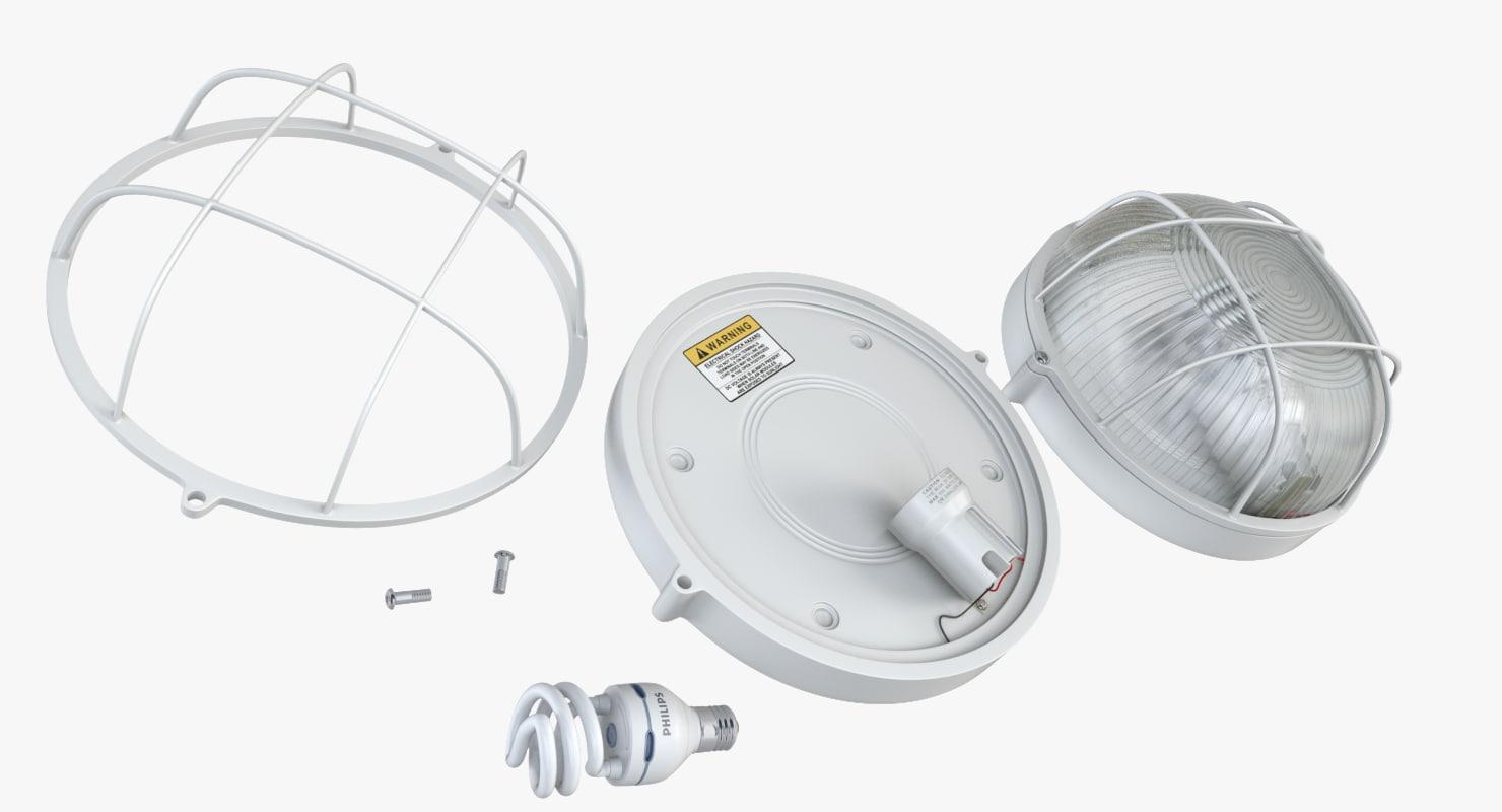 marine light 3d dxf