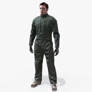 uniform soldier jumpsuit max