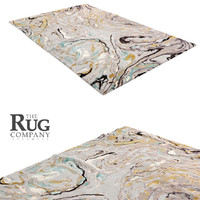 rug company marble 3d model