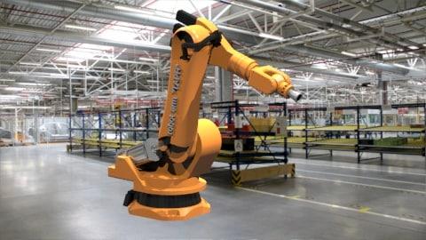 3d industrial robot