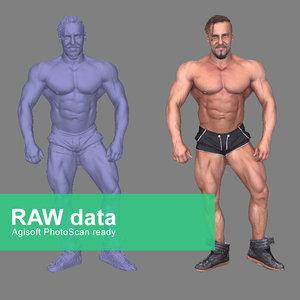 3d model scan fullbody agisoft