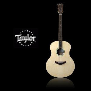 acoustic guitar taylor gs 3d max