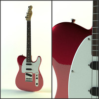 Fender Telecaster red metallic