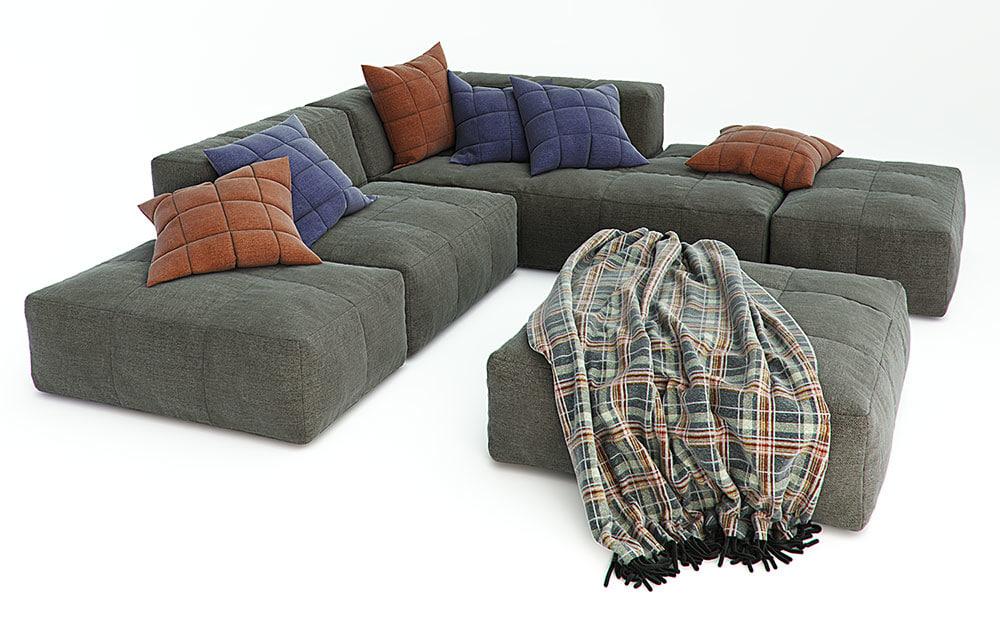 3d model divanidea sofas