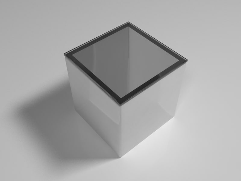 lighting box event table 3d max