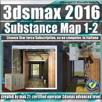 3ds max 2016 Substance Map 1- 2_Subscription