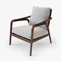 McGuire Knot Lounge Chair