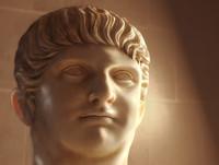Emporer NERO Claudius Caesar Bust