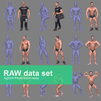Photorealistic Bodybuilder Pack