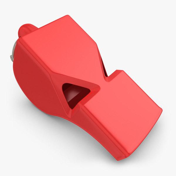 whistle scanline 3d model